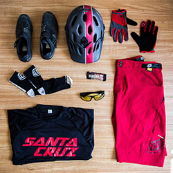 Thumbnail image for Style Check: Men's Trail Riding Kit in Red Featuring the TLD Skyline Short