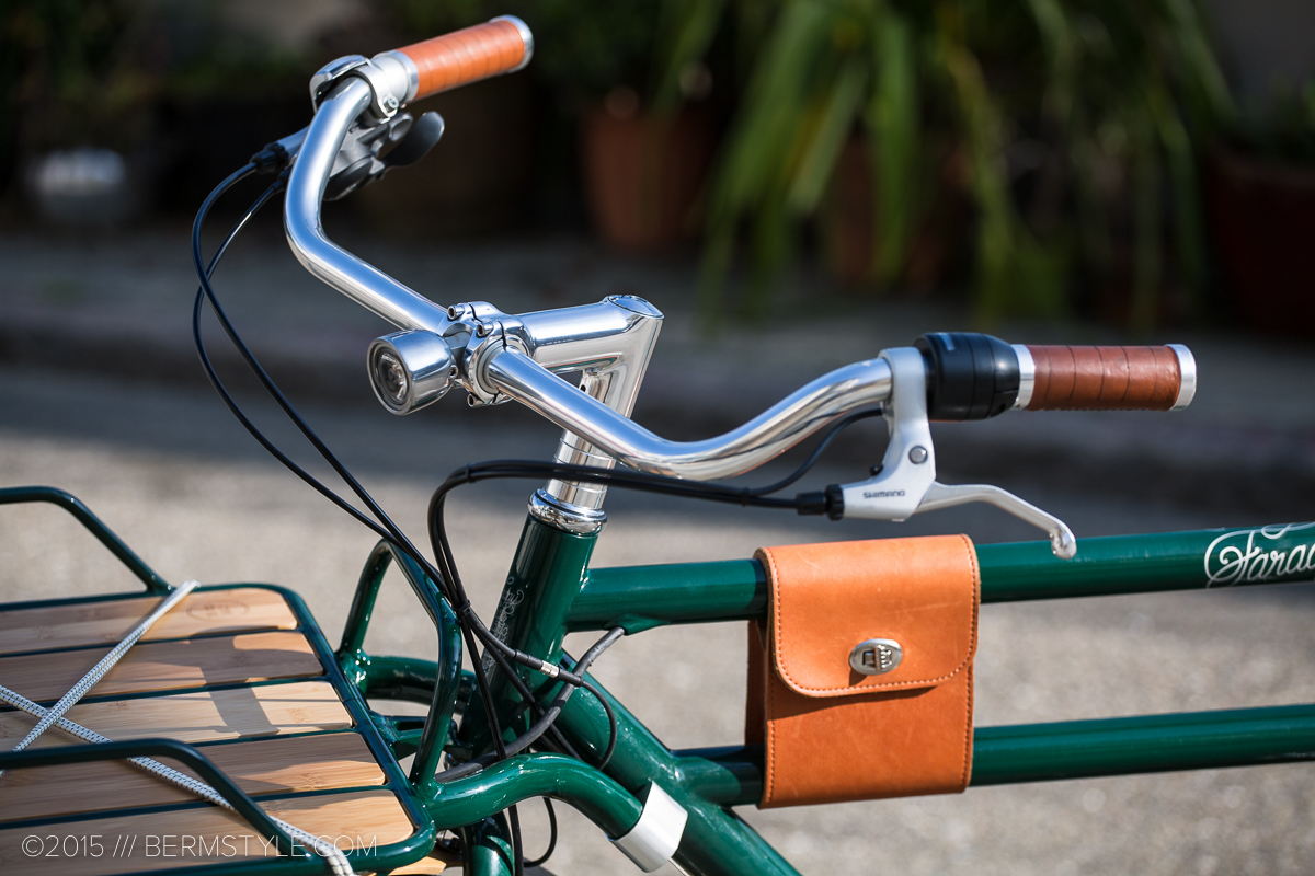 The front rack is an optional accessory that attaches directly to the frame.