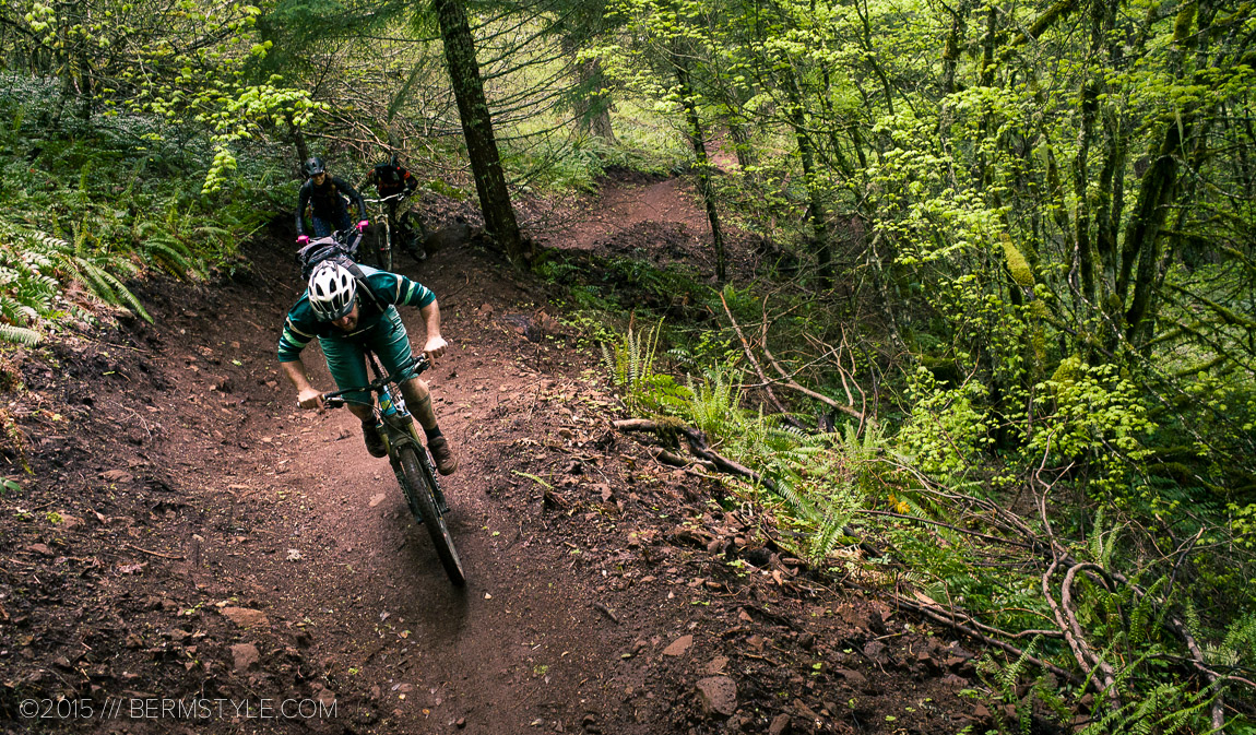 IMBA built flow trail in Oakridge, Oregon