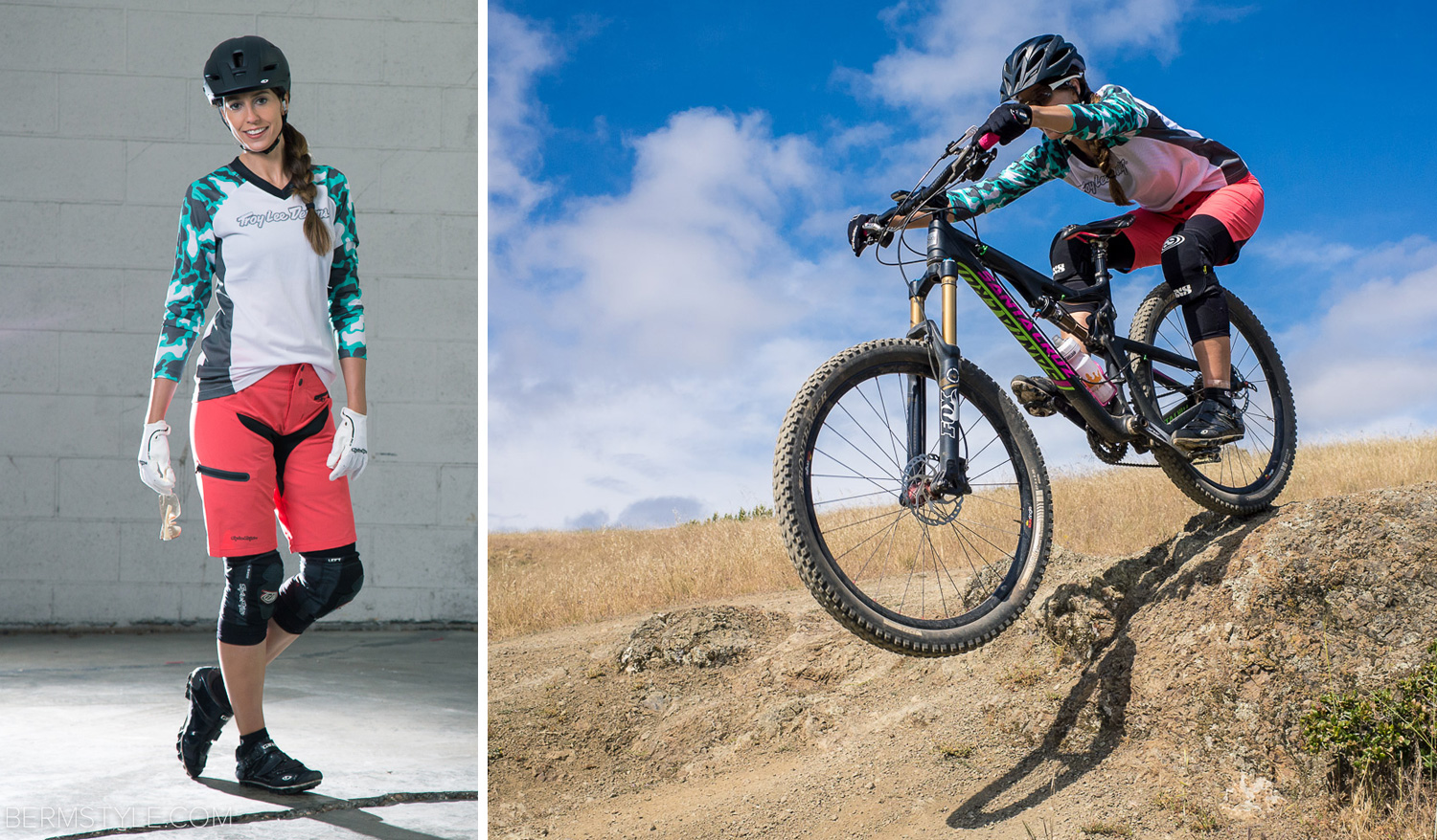 Style Check Tld Women S Skyline Coral Shorts And Jersey