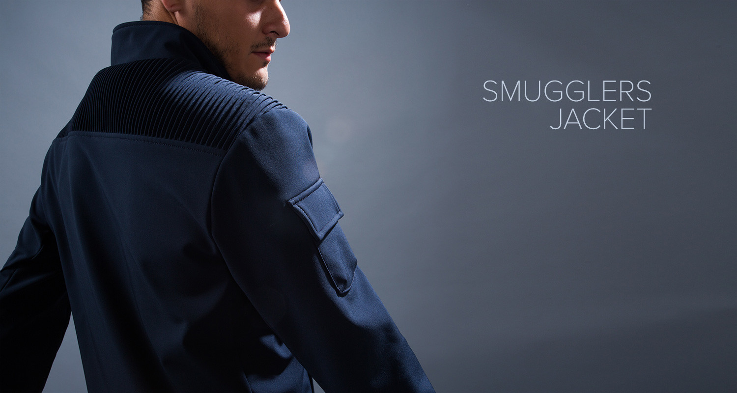 Bermstyle + Betabrand: The Smuggler's Jacket now in Crowdfunding