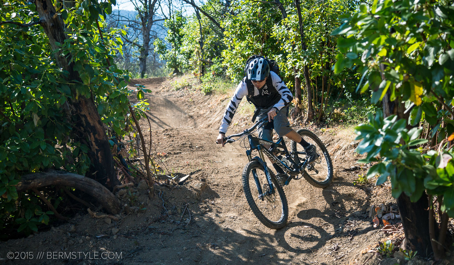 Izaak Van Horn on the Pay Dirt Trail