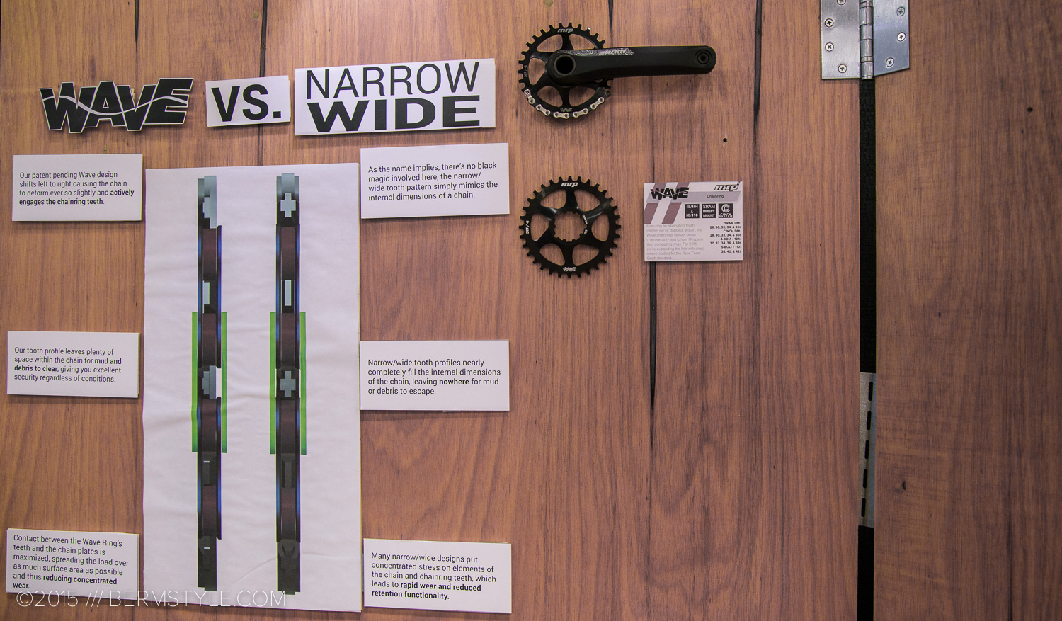 The Wave Ring explained as seen at the Interbike Trade Show.