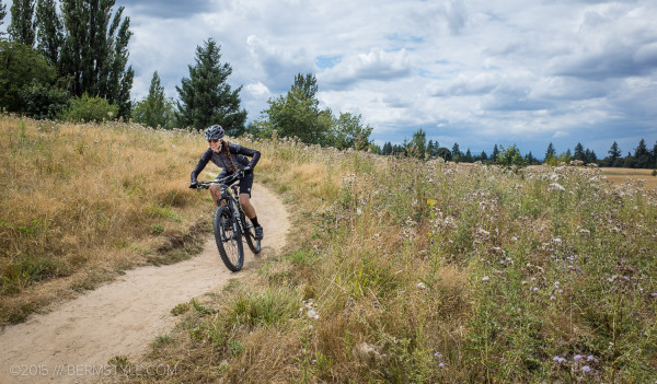 Powell Butte's groomed trails are suitable for beginners, and hardtail/ CX friendly.