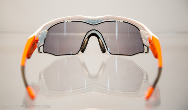 Uvex's Sportshield model with variotronic lenses.