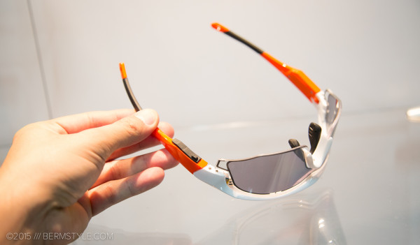 The Uvex Variotronic glasses have three modes to choose from: on, off, and auto.