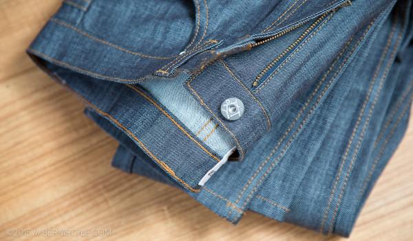 Cadence Raw Denim Cycling Jeans