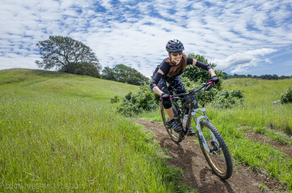 This mountain biker is breaking the rules at the Walnut Creek Open Space and loving ever second of it.