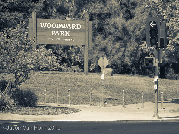 Woodward MTB Park in Fresno