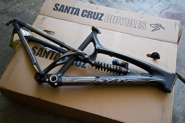 Fresh gear: Santa Cruz Nomad Carbon