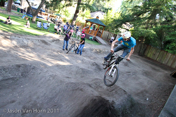 Zen garden of awesome: pump track sweetness in Santa Cruz County