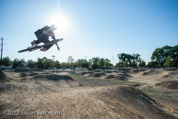 Bay Area Dirt Jump Destination: the Pleasanton Bike Park
