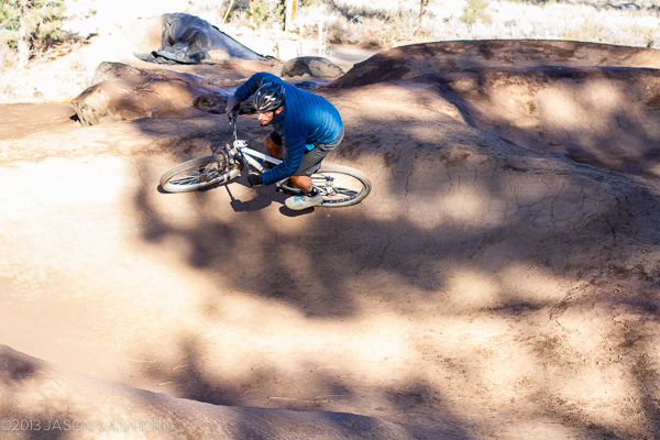 Truckee, California has a new pump track park