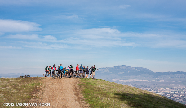 BTCEB Gala Ride Recap: Pleasanton Ridge