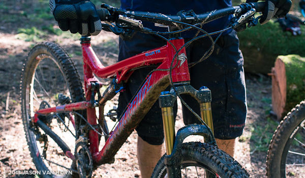 2013 Santa Cruz Blur TR:  Same Awesome Trail Bike, Now More Affordable