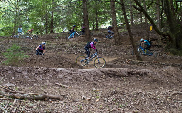 Flow Trail Test Ride: BTCEB Girls Take a Test Run