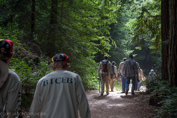 Joaquin Miller Park: Sunset Trail $2 Hill Reroute in Construction