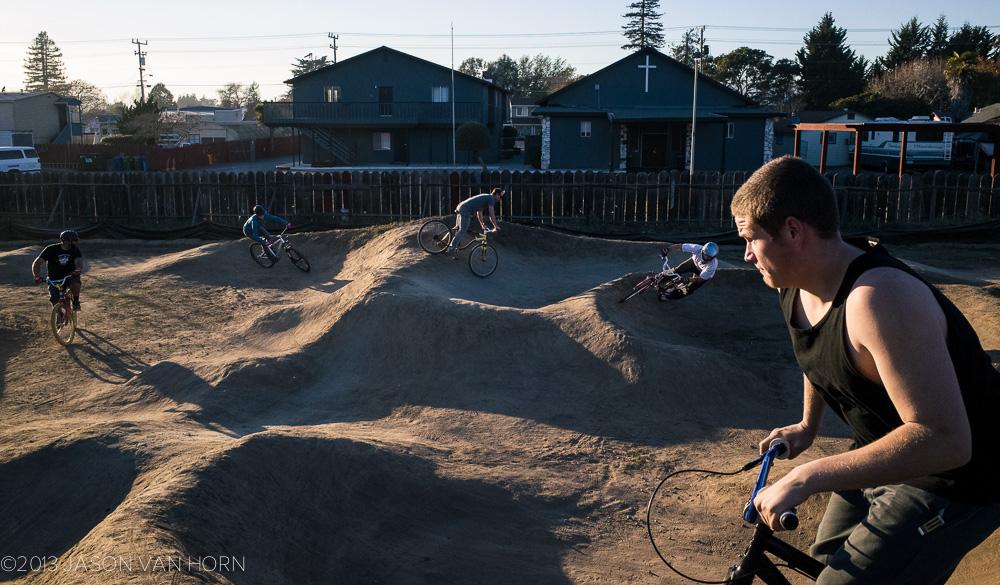Santa Cruz, CA: Chanticleer Park Pump Track