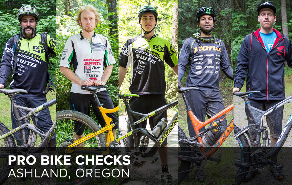 Ashland Spring Thaw: Pro Rider Bike Checks