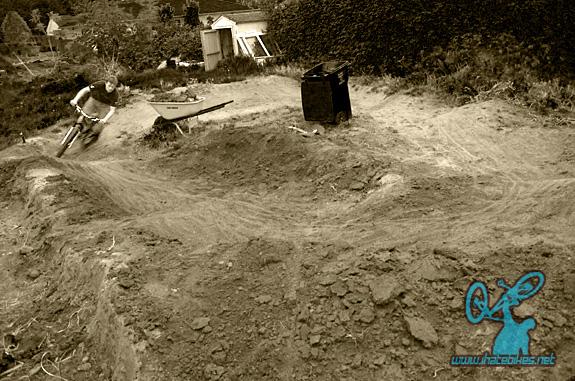 The Backyard Blam Pump track