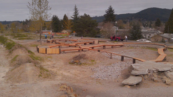 Castle Rock, Washington MTB Skills Park Opens