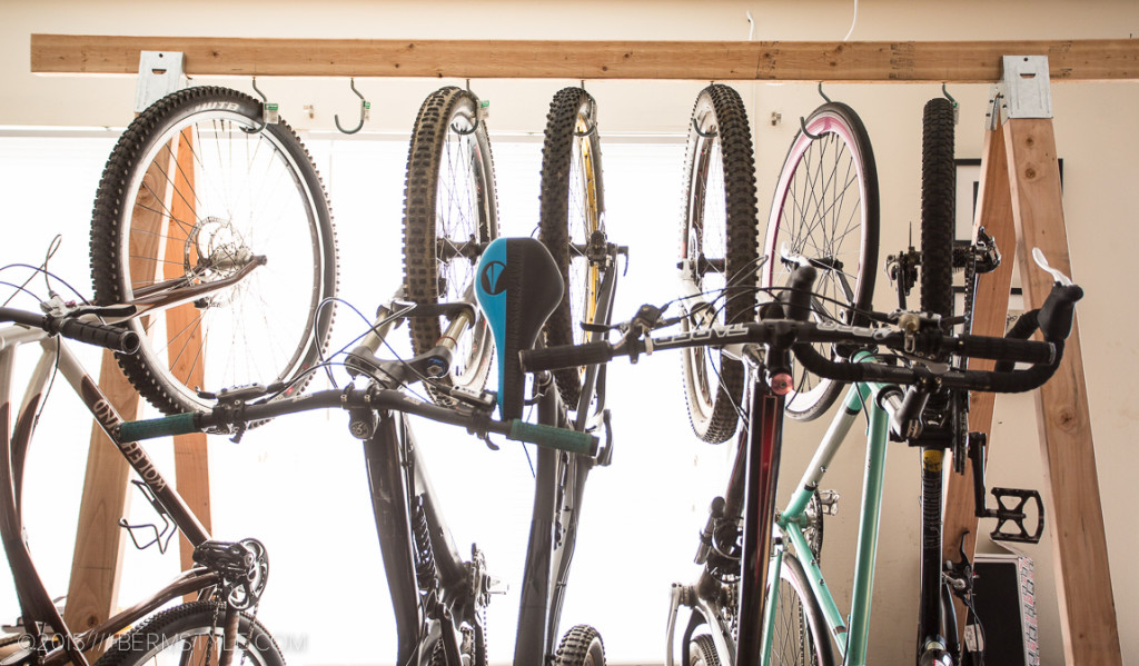DIY Bike Storage Rack