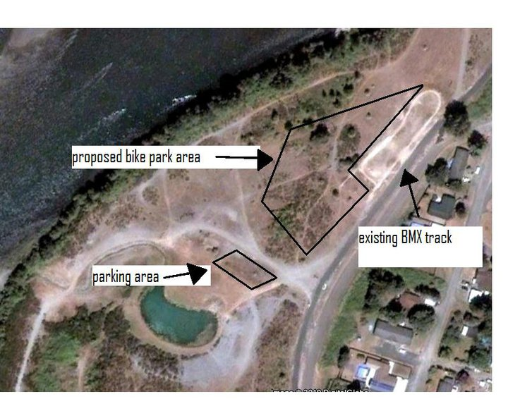Possible new bike park in Castle Rock, Washington- Action Needed