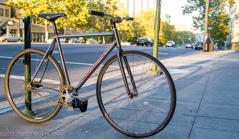 Quiver: Nemesis Project Track Bike