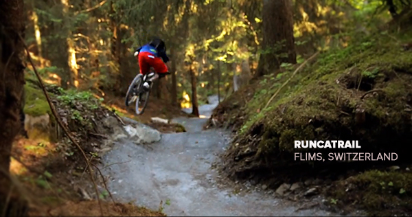 Flow Trail Video: Trek Runcatrail, Flims Switzerland