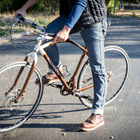 image for Review: Cadence Raw Denim Cycling Jeans