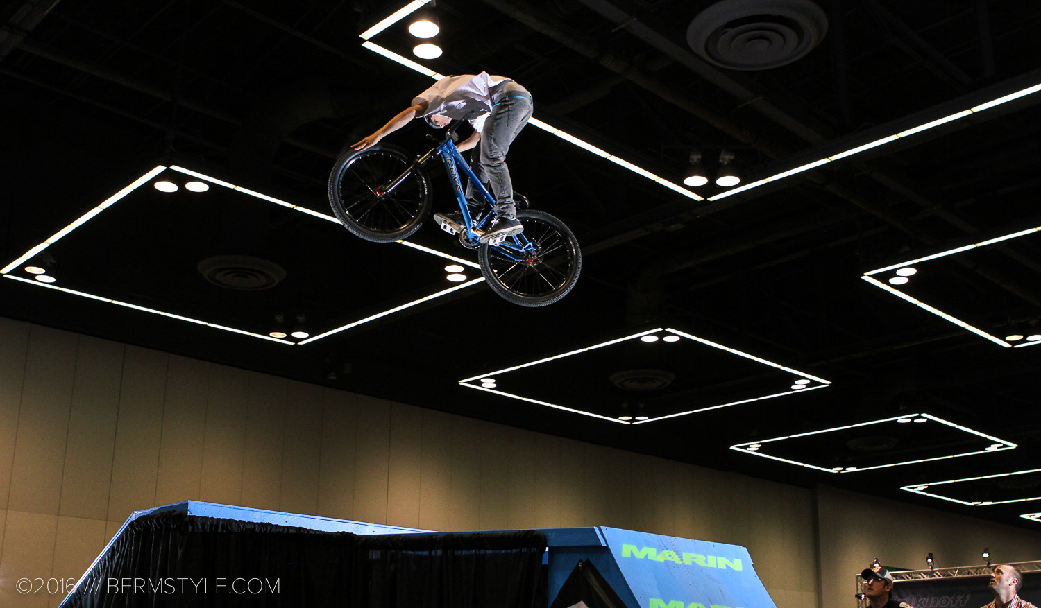 Carson Storch at the PDX Bikeshow, 2010.