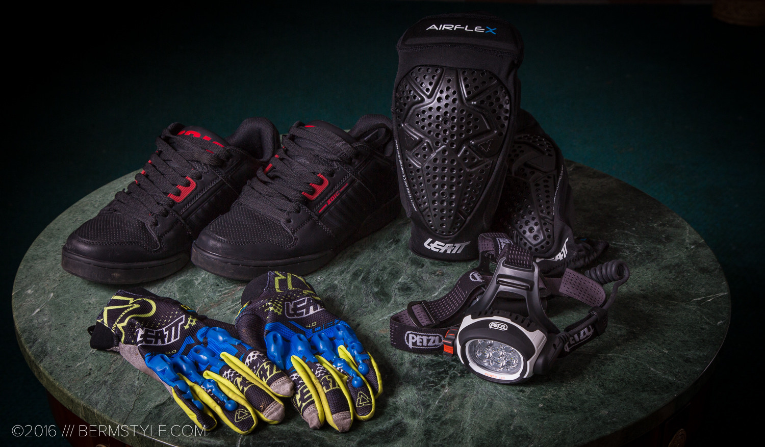 Fresh Gear: Zoic Prophet Shoes, Leatt Airflex Knee Pads, Gloves and Petzl UltraRush Headlamp