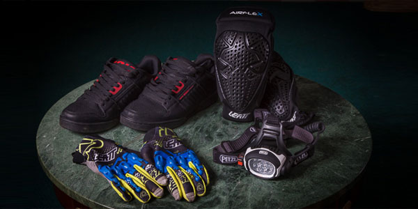 Fresh Gear: Zoic Prophet Shoes, Leatt Airflex Knee Pads, Gloves and Petzl UltraRush Headlamp feauted image
