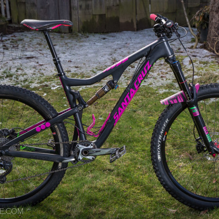 image for Bike Check: Inga Beck's Santa Cruz Bronson CC