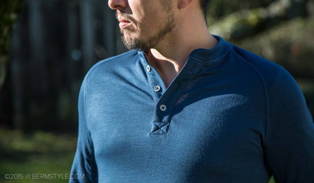 Review: Showers Pass Bamboo-Merino Henley Shirt