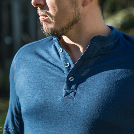 image for Review: Showers Pass Bamboo-Merino Henley Shirt