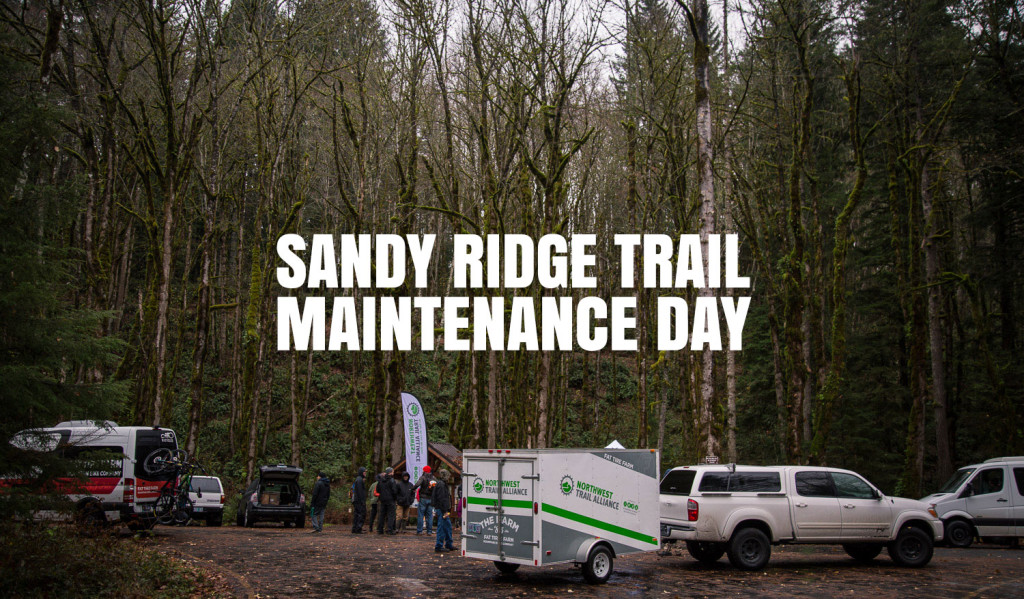 Sandy Ridge Trail Maintenance Day with the Northwest Trail Alliance