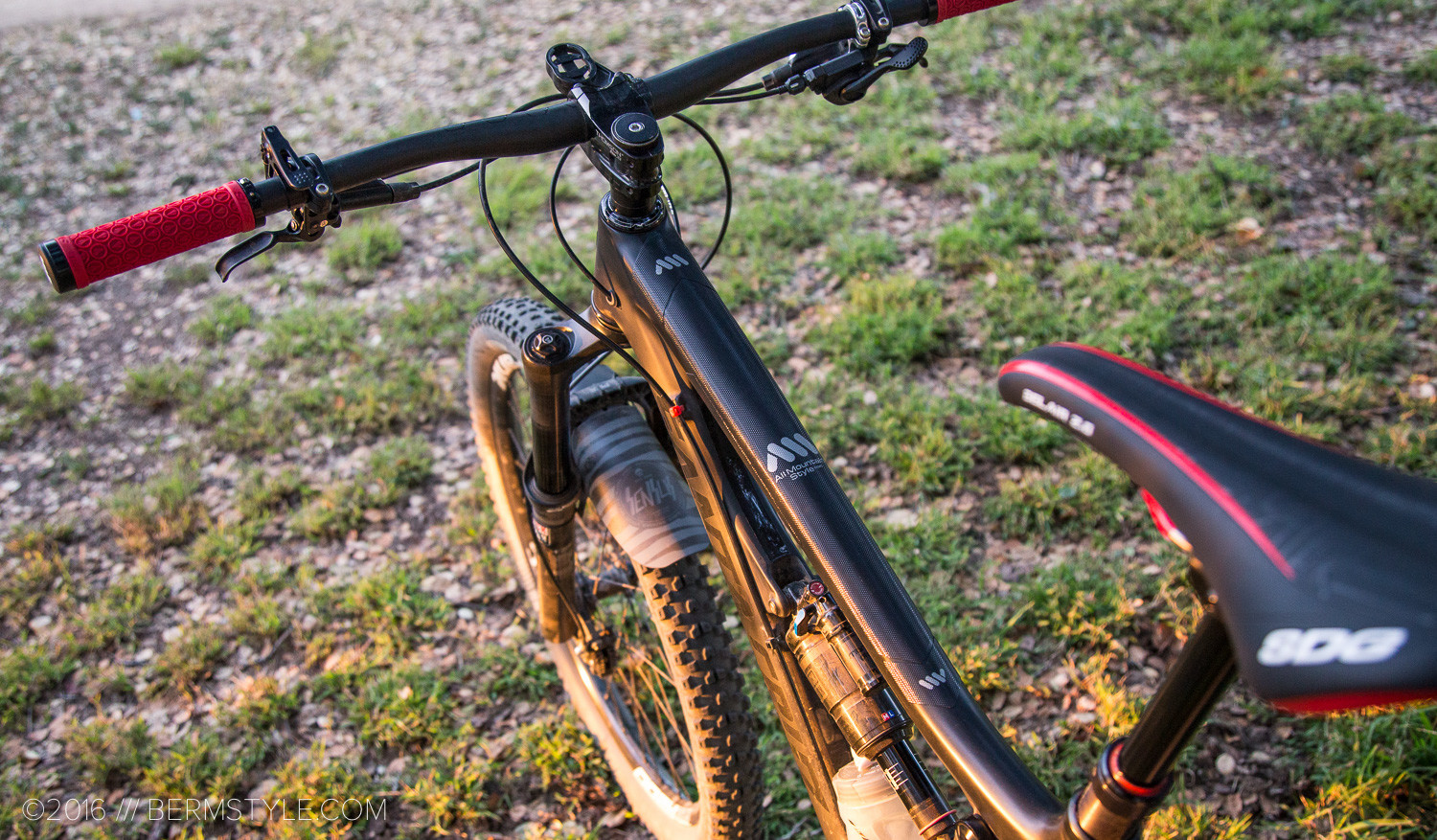 Review: All Mountain Style Honeycomb Frame Guard