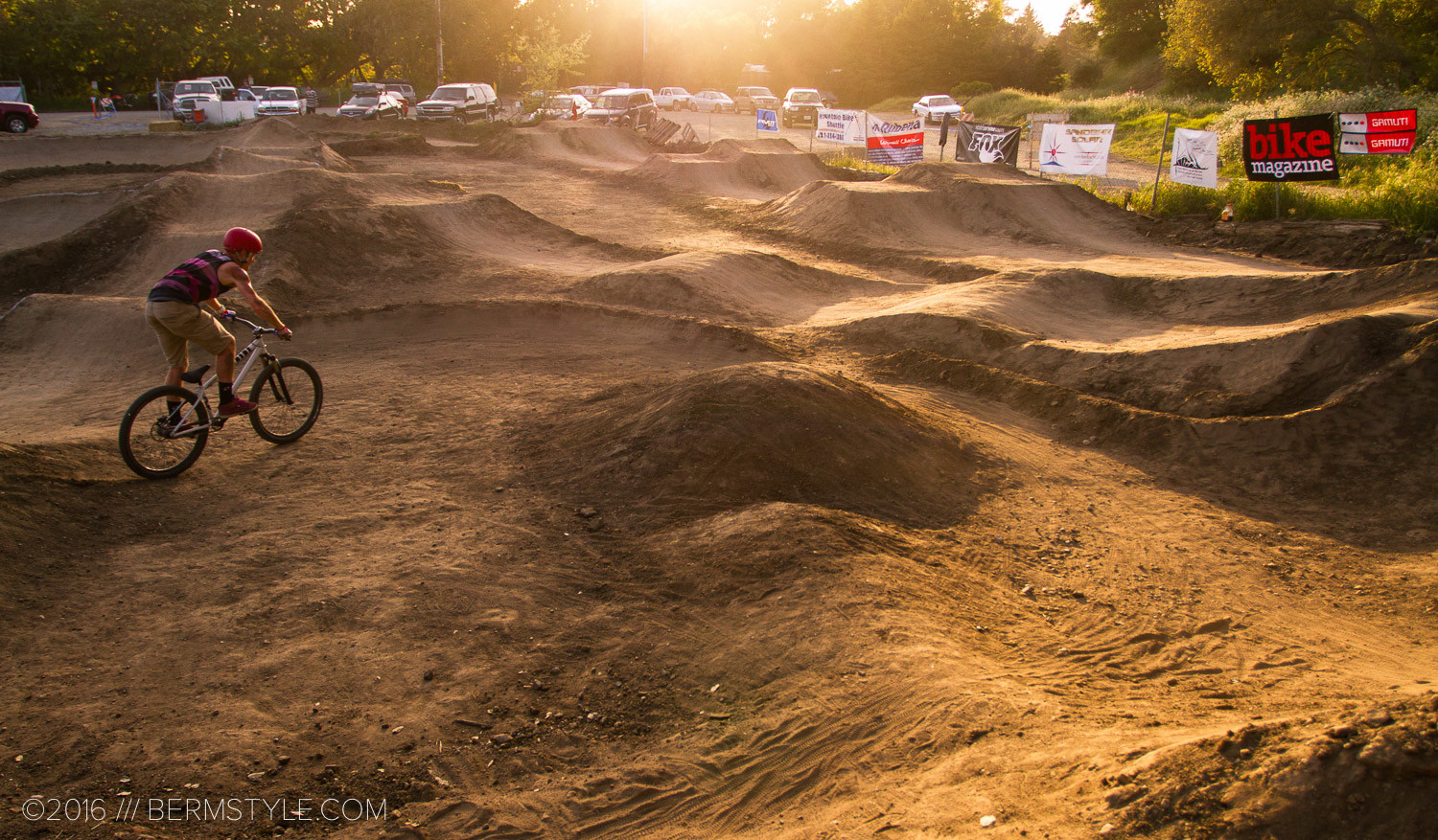 The Aptos Pump Track was retired in 2015 when the land was repurposed, but was renown as one of the best pump tracks in the area.