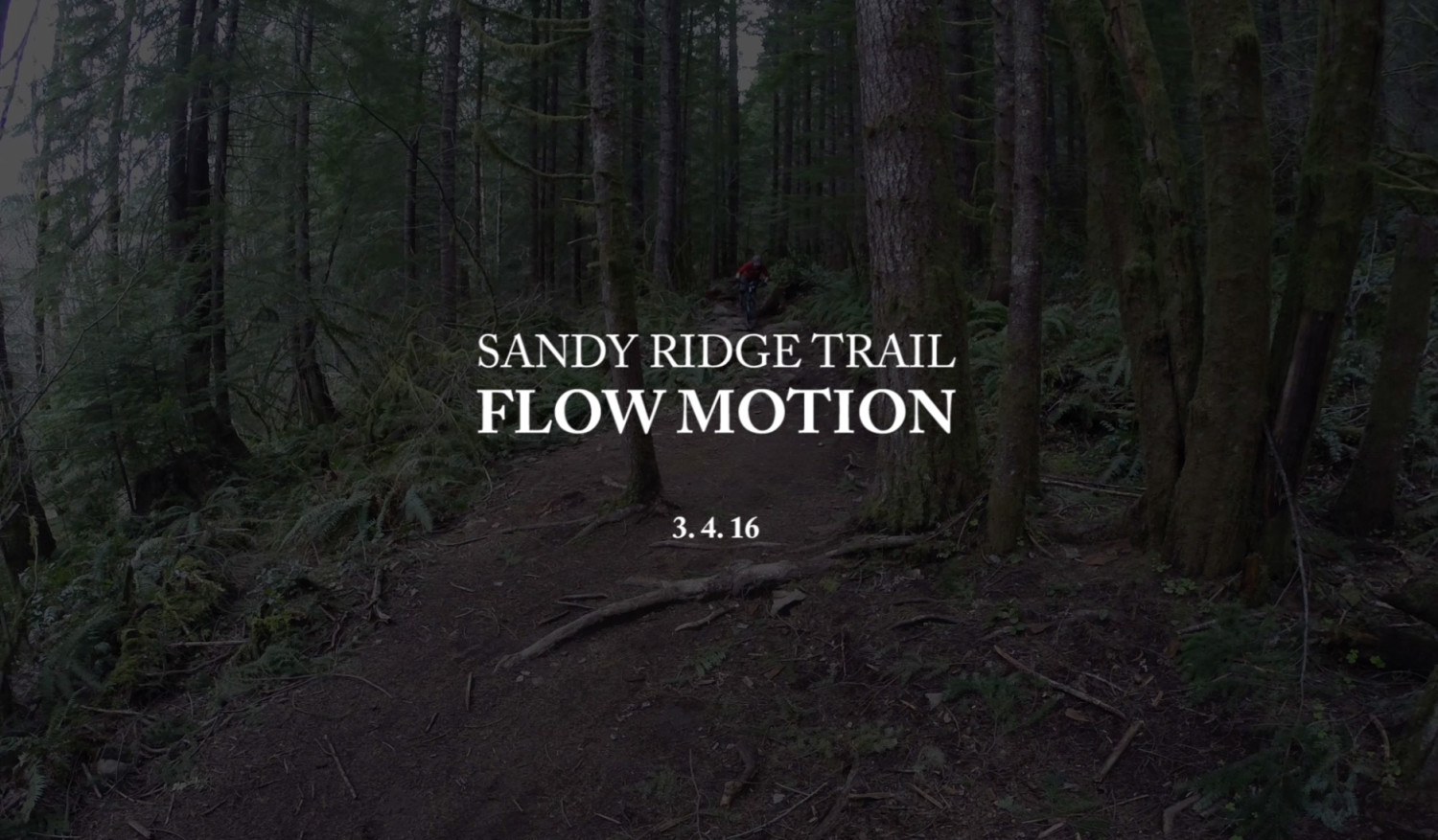 Portland, Oregon Trails: Sandy Ridge / Flow Motion