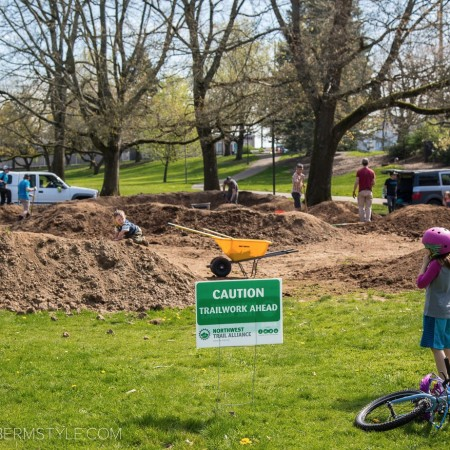 image for Ventura Park Pumptrack, Portland, OR. Rebuild Day 2