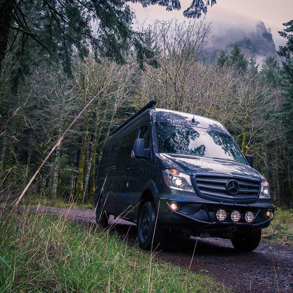 Dream Van Test Drive: the Outside Van Rainmaker feauted image