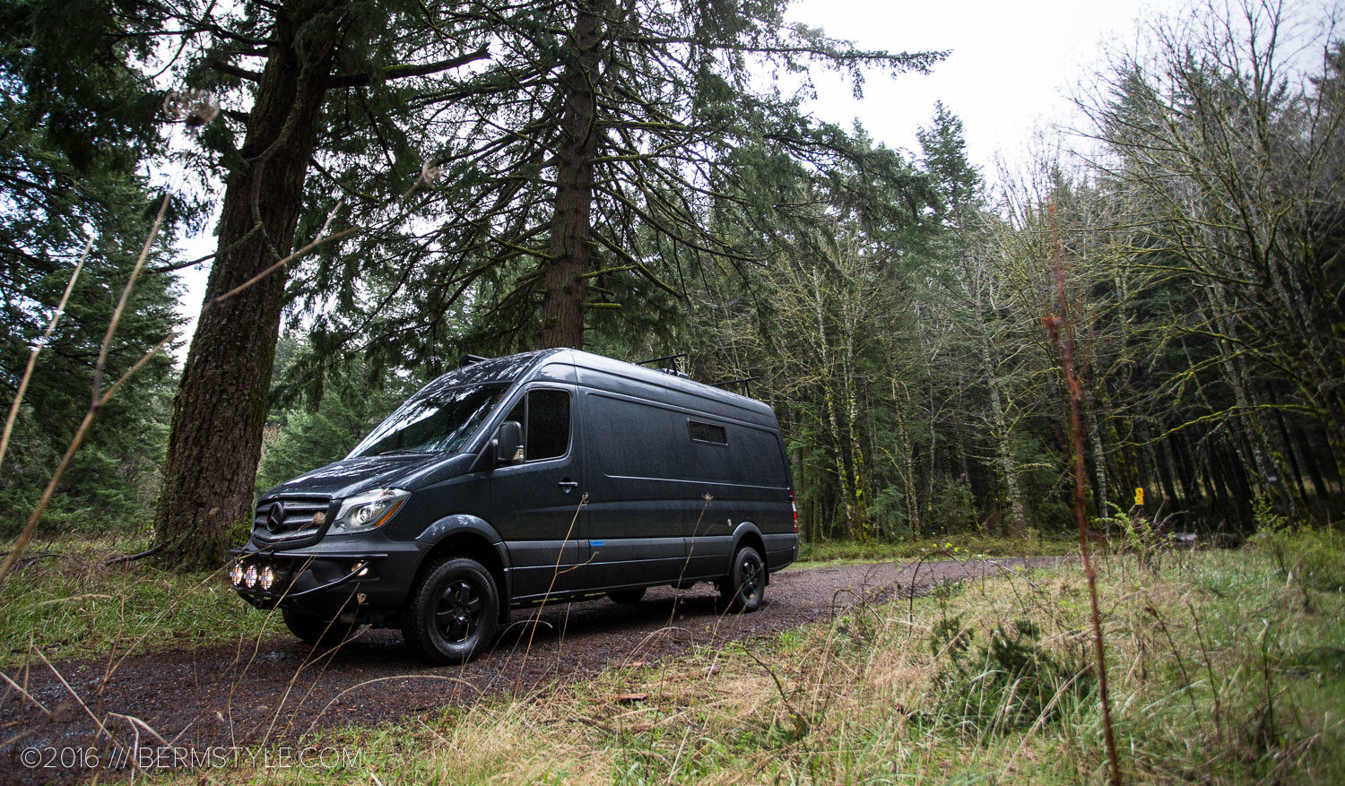 Dream Van Test Drive: the Outside Van Rainmaker