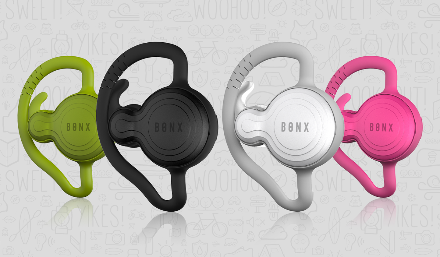 Bonx Grip Bluetooth Earpiece for Hands-free Group Talk
