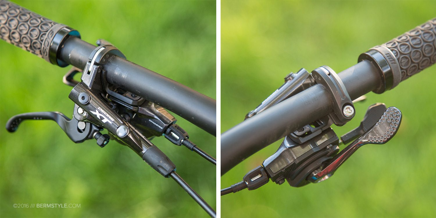 I-spec XT brakes and shifter