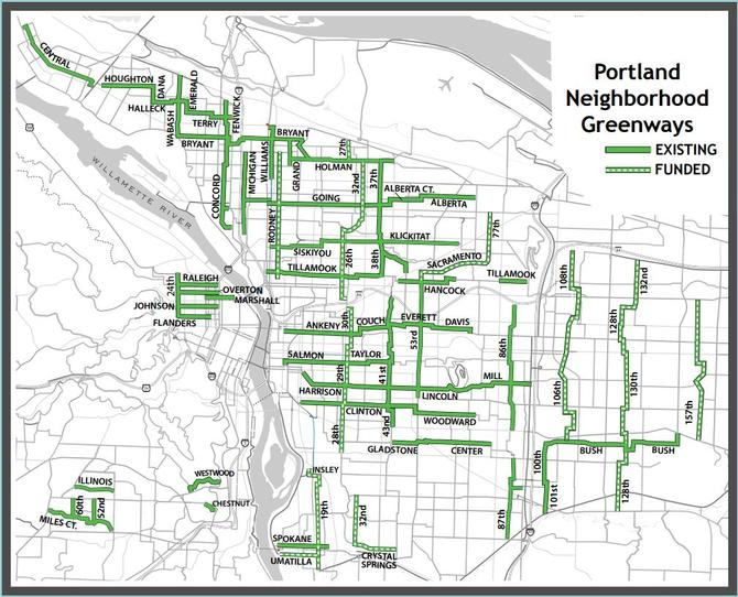 Portland Neighborhood Greenways