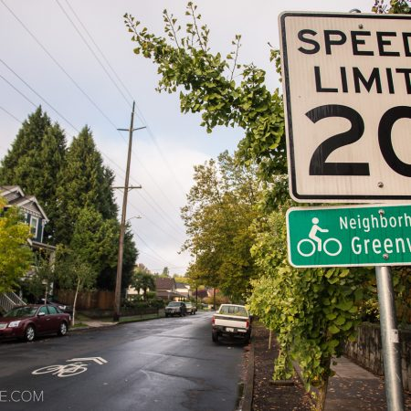 image for Portland Bike Commuting: the Going/ Alberta Greenway
