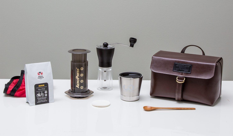 Looptworks Upcycle Coffee Travel Kit