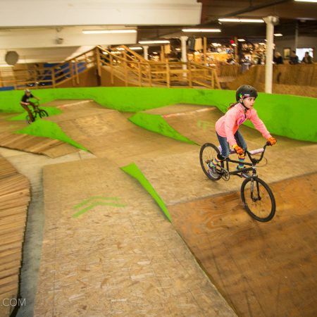 image for Portland's Indoor Bike Park: the Lumberyard MTB Park
