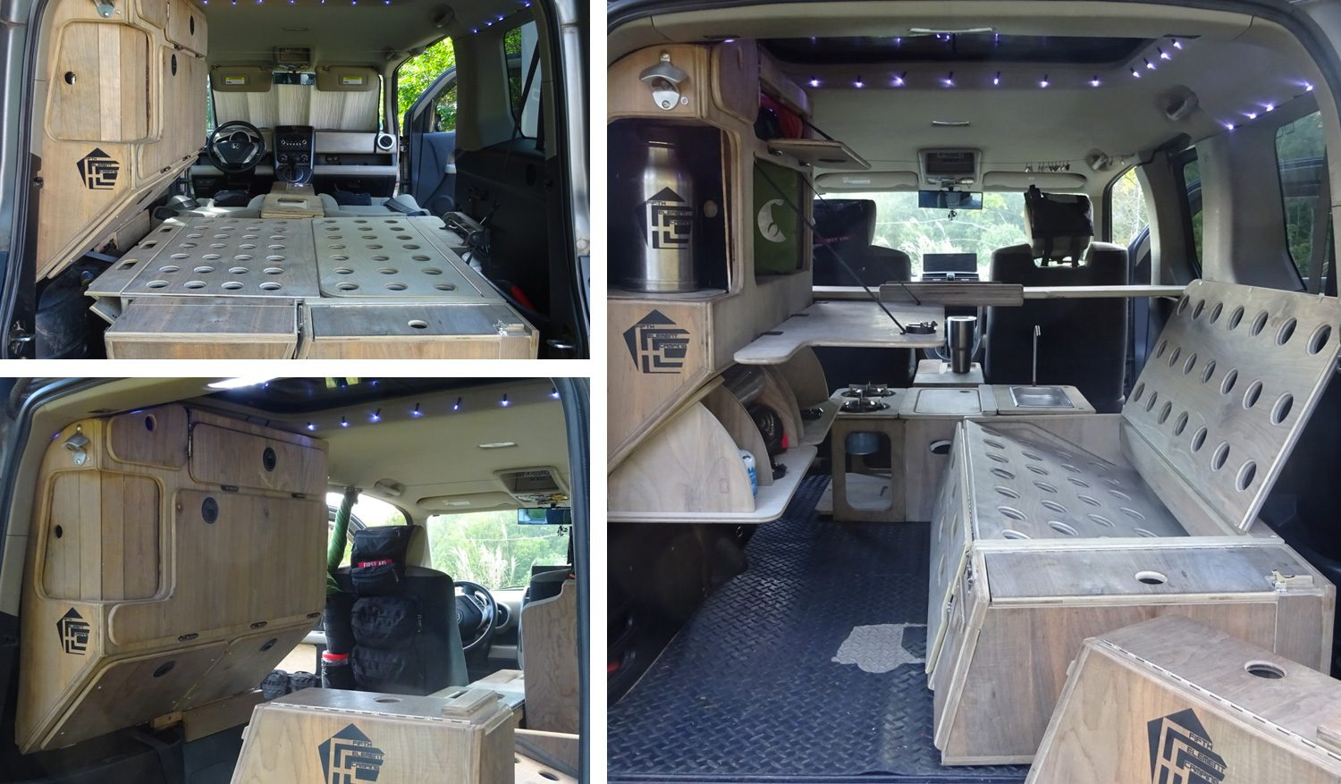 Honda Element Micro Camper By Fifth Element Camping